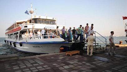 İzmir Vapur Feribot Gemi Seferleri Saatleri